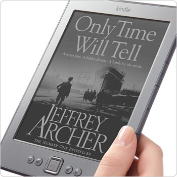 Latest Generation E Ink produces crisp text and images