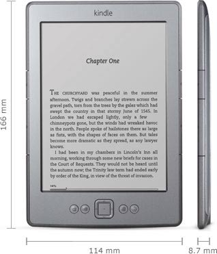 Kindle e-reader: 6.5