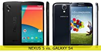 Nexus 5 vs. Galaxy S4