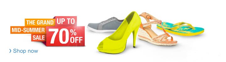 Mid Summer Sale| Women's Shoes on Sale