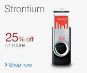 Strontium 25% off or more