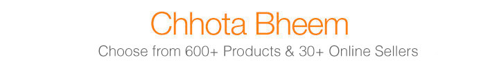 Wide range of Chhota Bheem Products