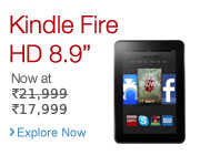 Kindle Fire HD Promo