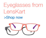 Eyeglasses from Lenskart