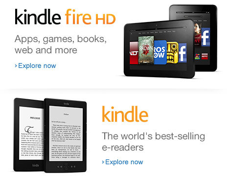 Kindle Fire HD on Junglee