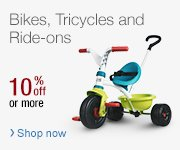 Bikes Tricycles and Ride ons