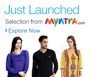 Myntra Launch on Clothing