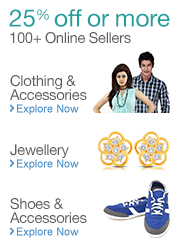 Shoes, Apparel and Jewellery products on Sale
