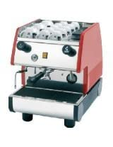 La Pavoni PUB 1EM-R - 1 Group Commercial Espresso Cappuccino machine , pour-in. Red