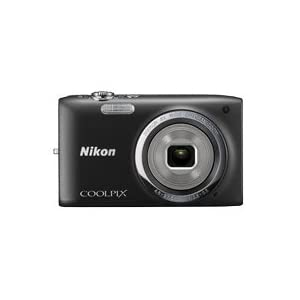 Nikon Coolpix S2700 16MP Point-and-Shoot Digital Camera (Black) with 4GB Card, Camera pouch