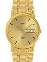 Timex Analog Gold Dial Men's Watch - A508
