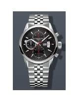 Raymond Weil Freelancer Black Dial SS Chrono Automatic Mens Watch 7730-ST-20041
