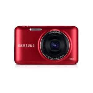 Samsung ES95 16.1MP Point and Shoot Digital Camera (Red)