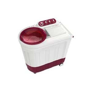 Whirlpool 8.2 kg Ace 8.2kg Stainfree Top Loading Semi-Automatic Washing Machine-Coral Red
