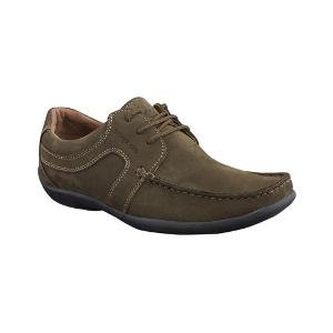 Woodland Men's Green Casual Shoes