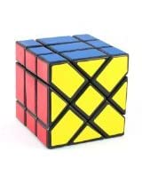 YJ Fisher Cube Black 3x3x3 Shape Mod Twisty Puzzle Toy 3x3