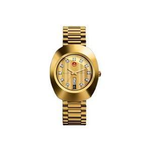 Rado Quartz, Gold Stainless Steel Band Gold Dial - Men's Watch R12413494