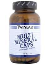 TwinLab - Multi Mineral Caps, 180 capsules