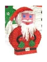 Santa Claus Christmas Pinata Party Game and Decoration