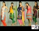 Designer Pack of 5 Printed Dress Material