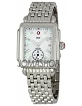 Michele Ladies Deco-16 Mother Of Pearl Diamond Dial Watch Mww06V000002