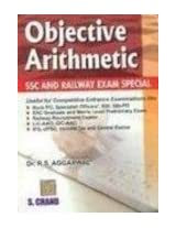 Objective Arithmetic : SSC and Railway Exam Special
