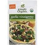 Organic Mixes: Garlic Vinaigrette Salad Dressing Mix - 1 oz Packet