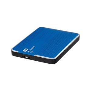WD My Passport Ultra 2TB Portable External USB 3.0 Hard Drive with Auto Backup - Blue