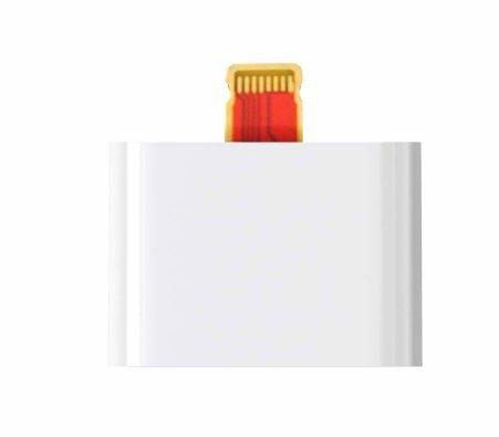 【BlueSea】iPhone5/第4世代iPad/iPad mini/新型iPod対応 Lightning to 30pin Dock Adapter【ライトニングコネクタ部をドックコネクタの形に変換するアダプタ】