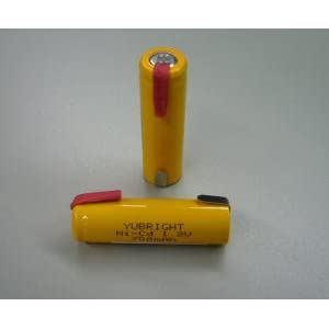 【クリックで詳細表示】スカイニー ニカド電池 単3形 タブ付 1.2V 1000mAh ≪ 4本組 ≫ BK-1AA1000NC.0