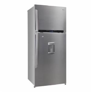 LG 420L 4 Star GL-479GSXD4 Double Door Refrigerator-Stainless