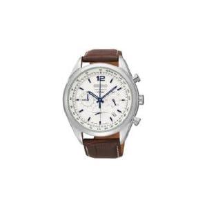 Seiko Analog White Dial Men's Watch - SSB095P1