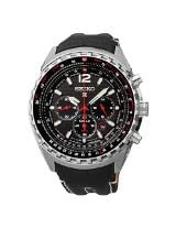Seiko - Prospex - Mens Chronograph Solar Leather - 46mm - SSC289