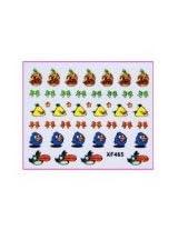 Konad Angry Birds 3D Nail Sticker XF465