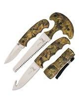 Elk Ridge ER-273CA Hunting Knife Set (4-Piece)