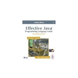 Effective JavaTM Programming Language Guide (Java Series (Old Edition))