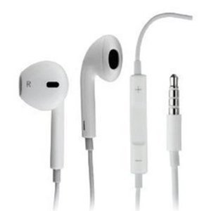 Apple Clone 225B In-Ear Stereo Headset (White)