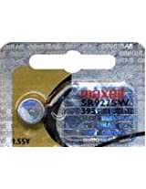 Maxell Watch Battery Button Cell SR927SW SR 927 SW (Pack of 5 Batteries)