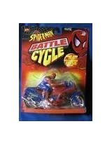 SPIDER-MAN BATTLE CYCLE BUMP AND GO MOTORCYCLE