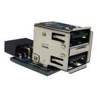 【クリックで詳細表示】世田谷電器 USB9pinポート変換 奥沢一丁目 AR-UPIPO-A: パソコン・周辺機器