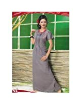 Soft Cotton Beautiful Designer Sexy Young Ladies Evening Nighty