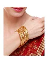 Jewellery Addict One Gram Gold Designer Bangles-6pc