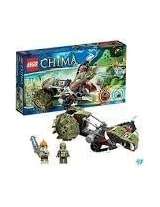 Game / Play LEGO Chima Crawley Claw Ripper 70001 Includes 2 minifigures: Leonidas and Crawley Toy / Child / Kid