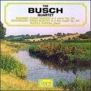 ブッシュSQ演奏 シューマンとブラームスのピアノ五重奏曲の商品写真