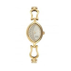 Titan Raga Analog Gold Dial Women's Watch - NC2370YM07