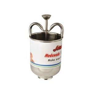 Avani Stainless Steel Meduwada Maker, Silver