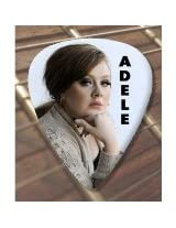 Printed Picks Company Adele (1) Premium Guitar Pick x 5