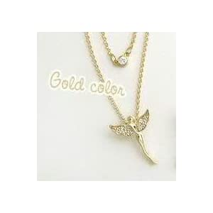 Angel Pendent Golden Color