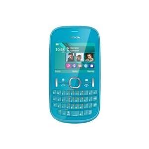 Nokia Asha 200 Mobile Phone-Aqua