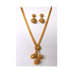 Golden Color Necklace Set